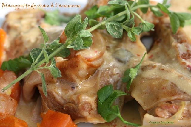 Blanquette de veau l ancienne march campagnard de - Cuisine blanquette de veau a l ancienne ...
