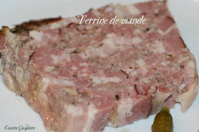 terrine porc veau